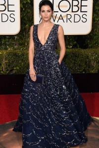 Best dressed at the Golden Globes 2016 Jenna Dewan Tatum in Zuhair Murad Couture