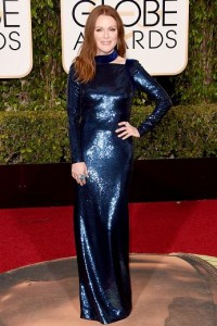 Best dressed at the Golden Globes 2016 Julianne Moore in Tom Ford