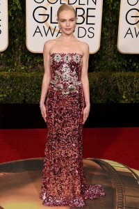 Best dressed at the Golden Globes 2016 Kate Bosworth in Dolce & Gabbana